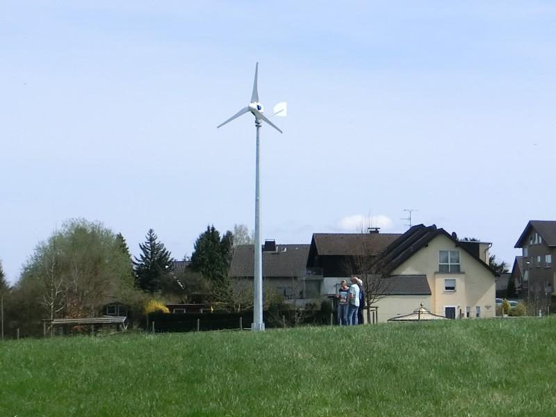 Kleine Windkraftanlage - Strom fürs Haus