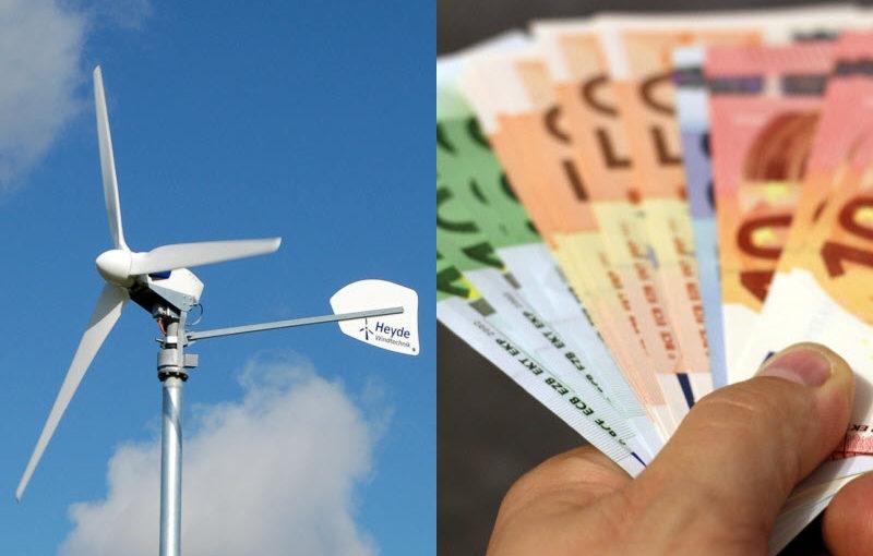 Preise für Kleinwindkraftanlagen