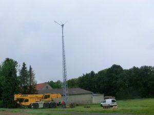 Kleinwindanlage in NRW - Planung und Montage