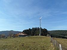 Kleinwindanlage im Mittelgebirge