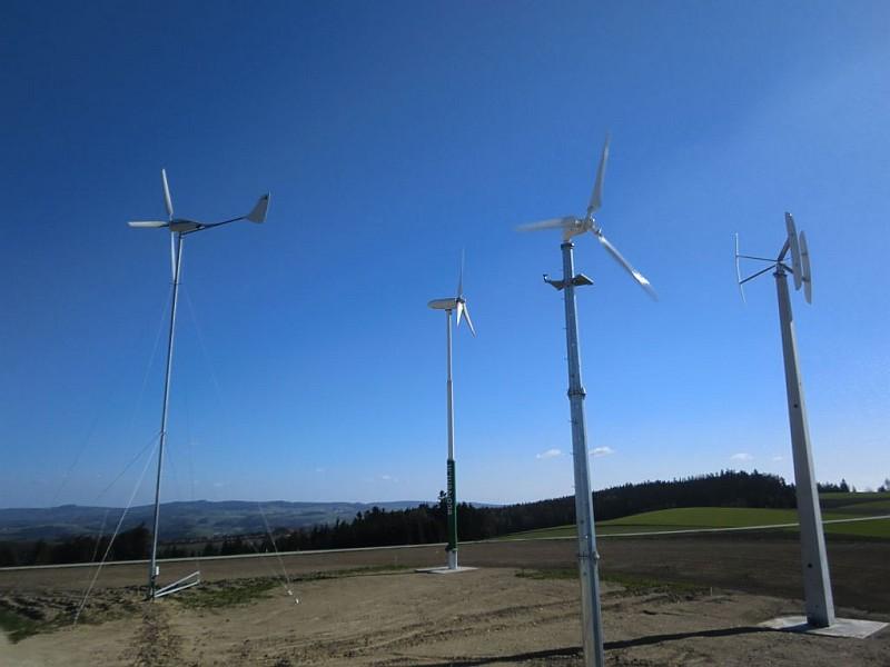 Testfeld für Kleinwindkraftanlagen