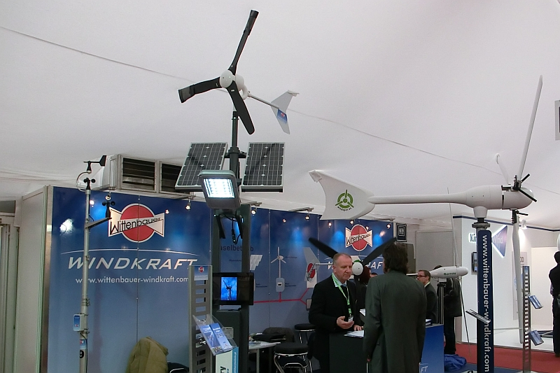 Kleinwindanlagen-Messe New Energy Husum
