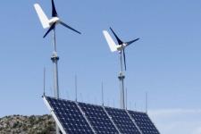 PV-Wind-Inselanlage