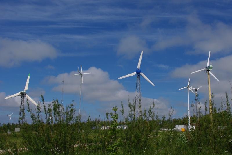 Kleinwindanlagen im Test auf Testfeld