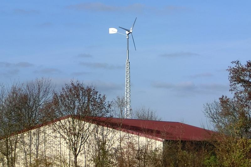 Kleinwindanlage in Rheinland-Pfalz