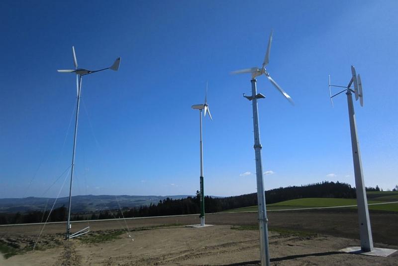 Test von Kleinwindkraftanlagen