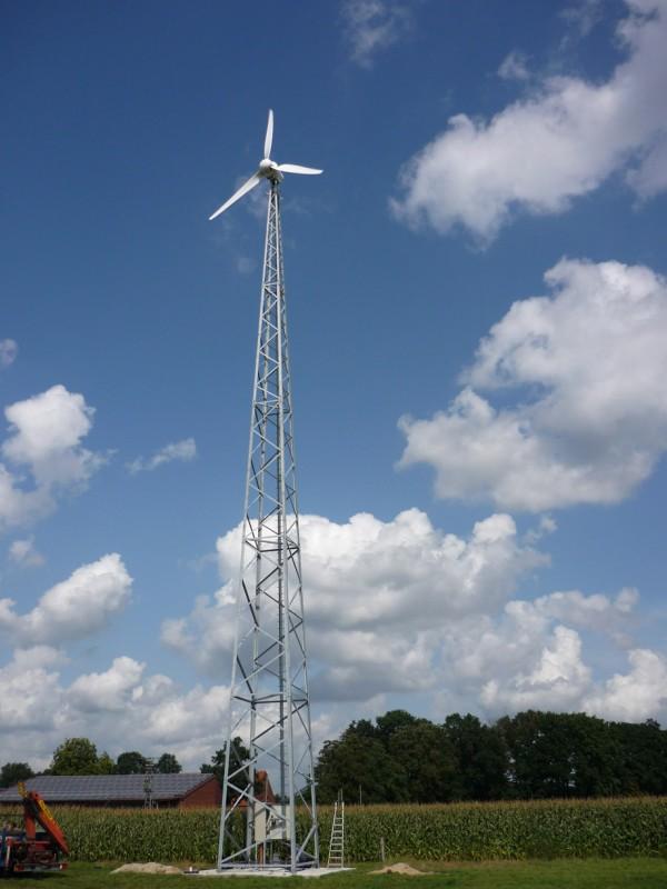 Kleinwindanlage 10 kW von Lely Aircon