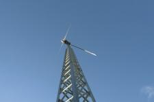 Kleinwindanlage mast