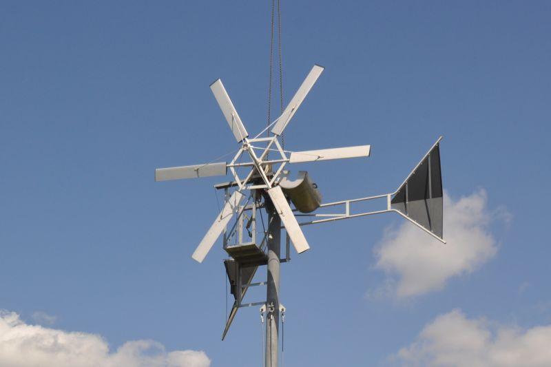 Selbstbau-Windrad von Prof. Horst Crome