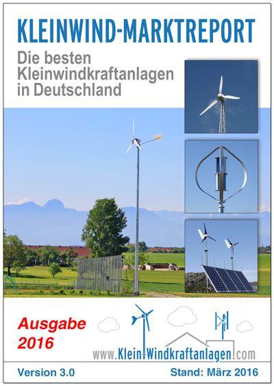 Kleinwind-Marktreport 2016