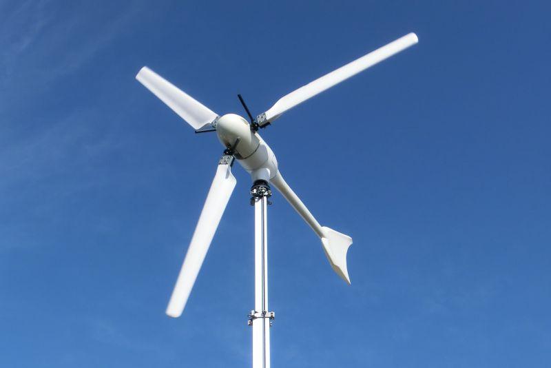 Windkraftanlage - Rotor & Generator-Leistung