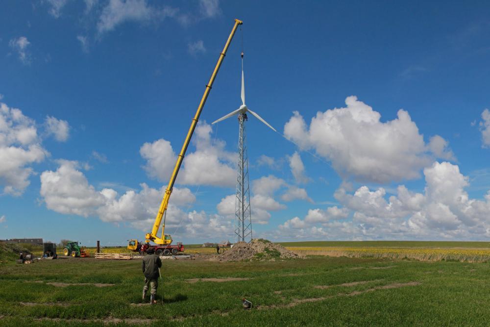 Kleinwindkraftanlage Landwirtschaft