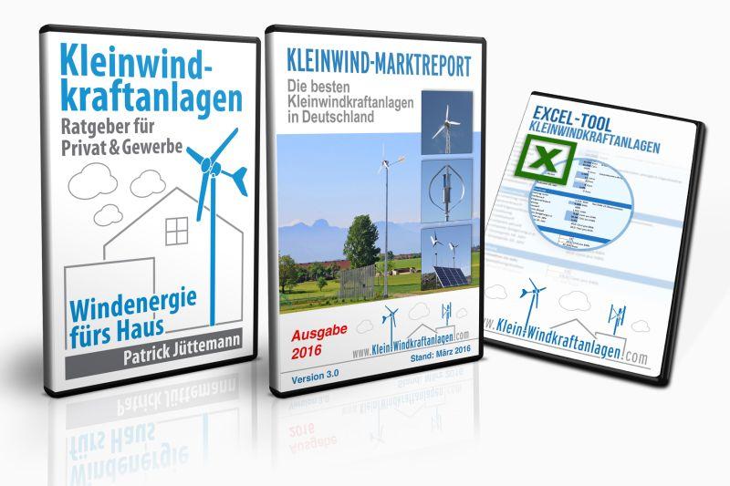 Premiumpaket Kleinwindkraftanlagen