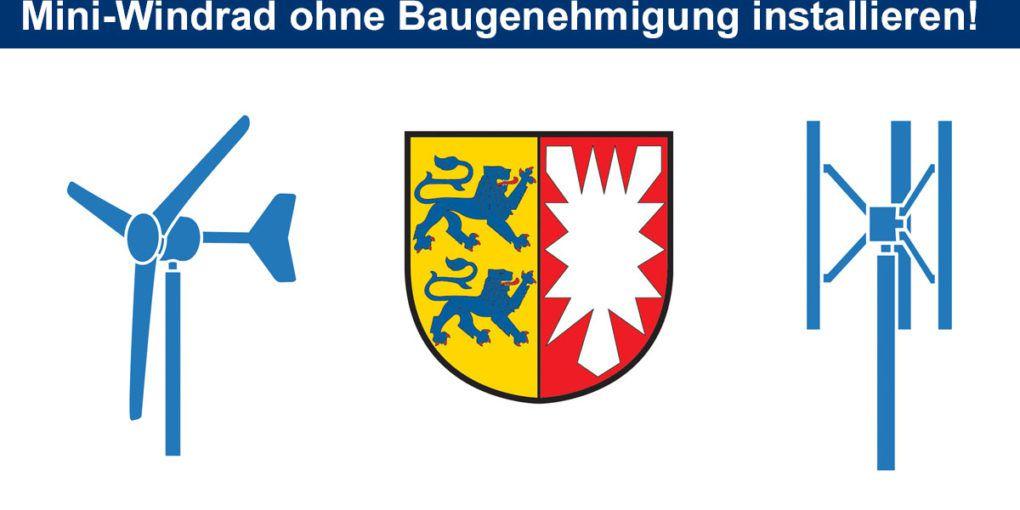 Kleine Windanlagen - Baugehmigung Schleswig-Holstein