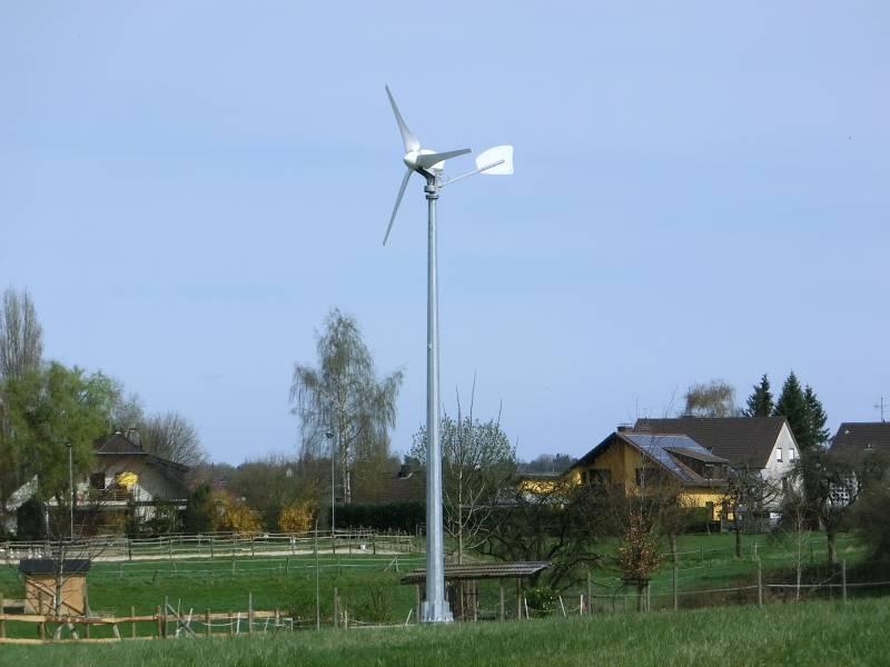Windkrad kaufen - Horizontal