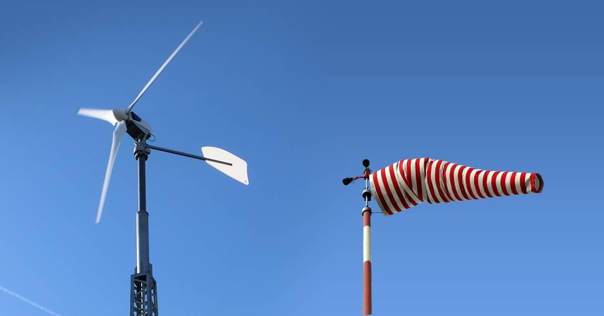 Windstarker Standort Kleinwindanlage