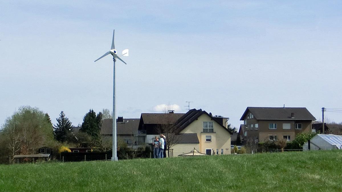 Kleinwindkraftanlage - Gewerbe und Privat