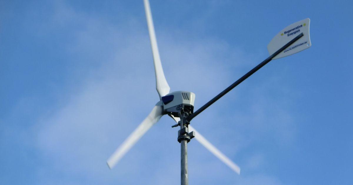 Kleine Windkraftanlage - Kosten - Wirtschaftlichkeit