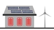 Stromspeicher Haus