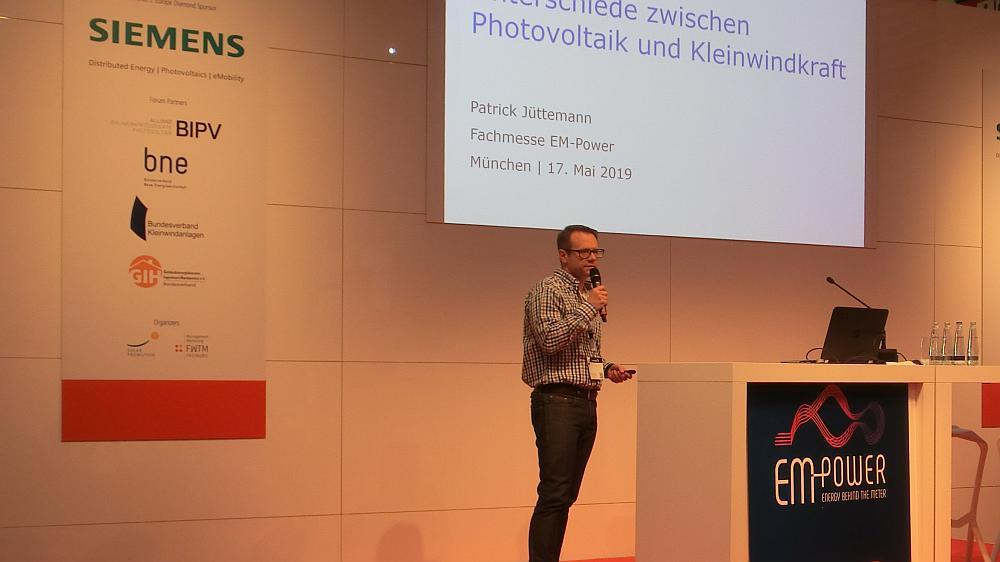 Patrick Jüttemann - Intersolar 2019