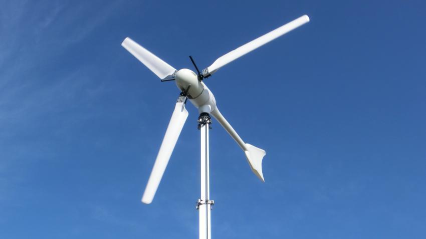 Kleinwindanlage Test und Zertifizierung