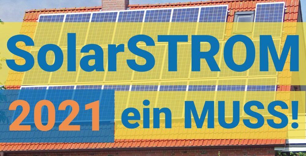 Photovoltaik 2021 - Eigenheim und Firmengebäude