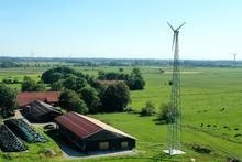 Kleinwindkraftanlage Landwirtschaft Gartenbau